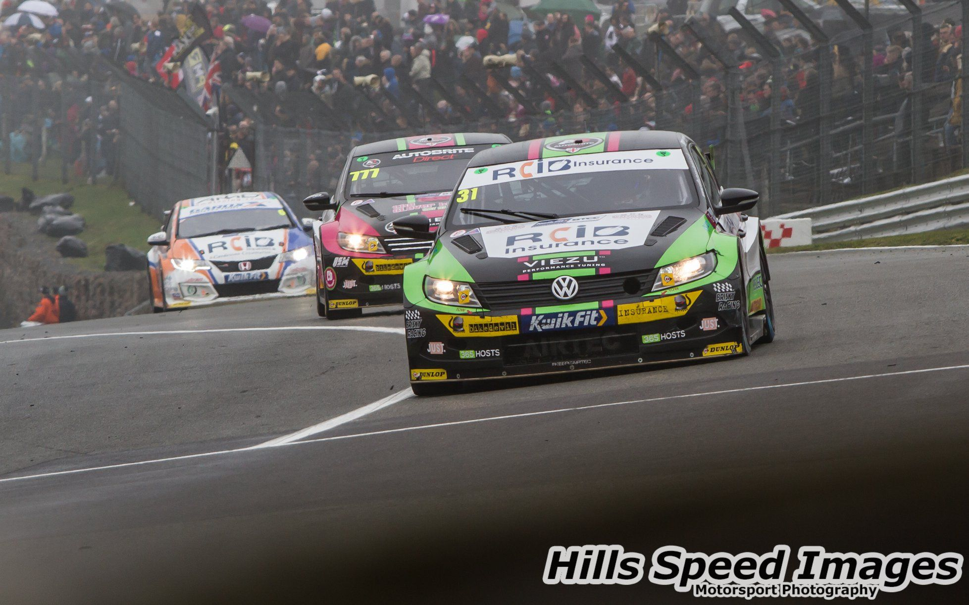 BTCC Brands Hatch TeamVIEZU TeamHARD Racing Motorsport