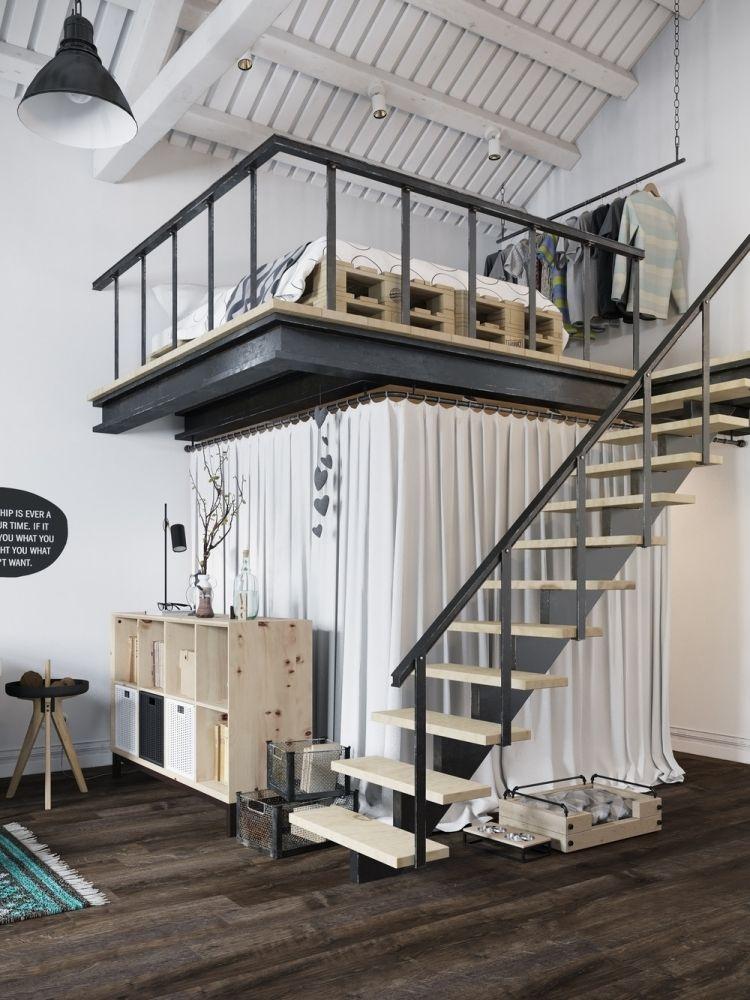Industrial Design Mobel Und Offene Planung In 50 Bildern Loft