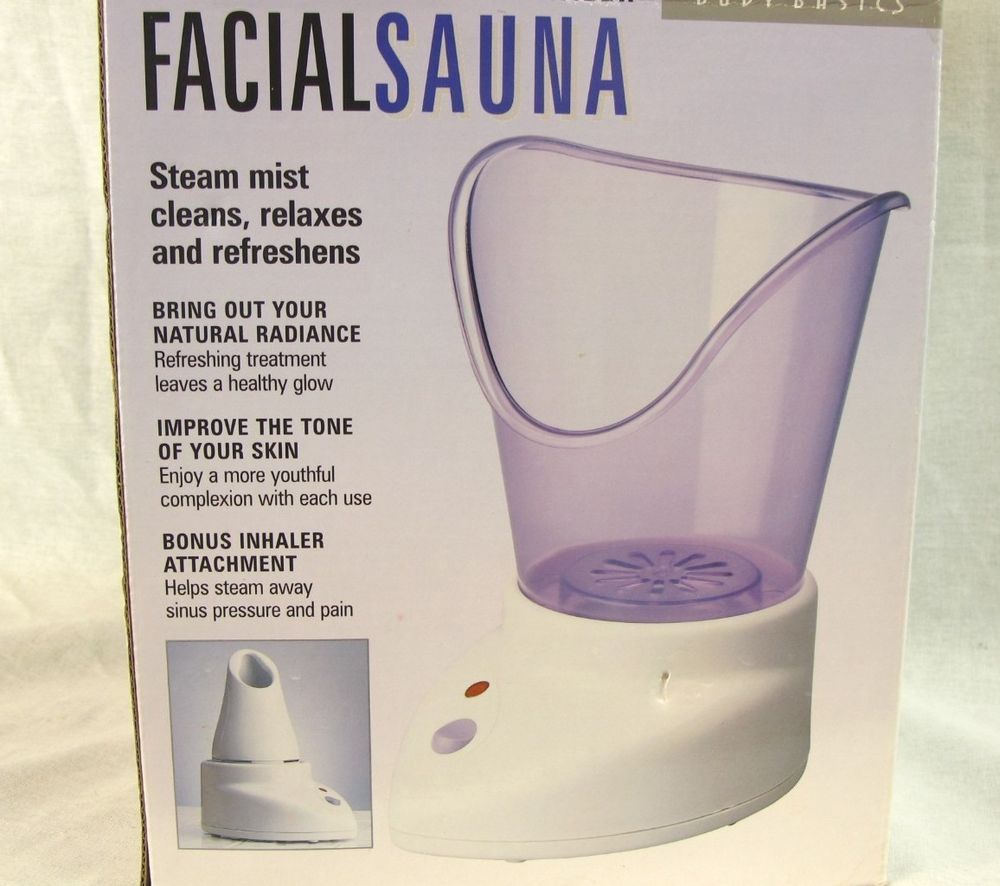 Homedics fac 1 a facial sauna and inhaler