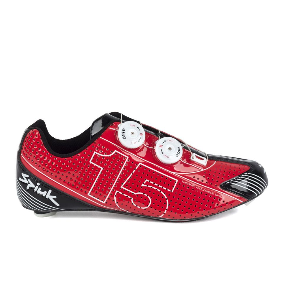 Spiuk Zs15rc Cycling Road Shoes Red Road Bike Shoes Bike Shoes Bike
