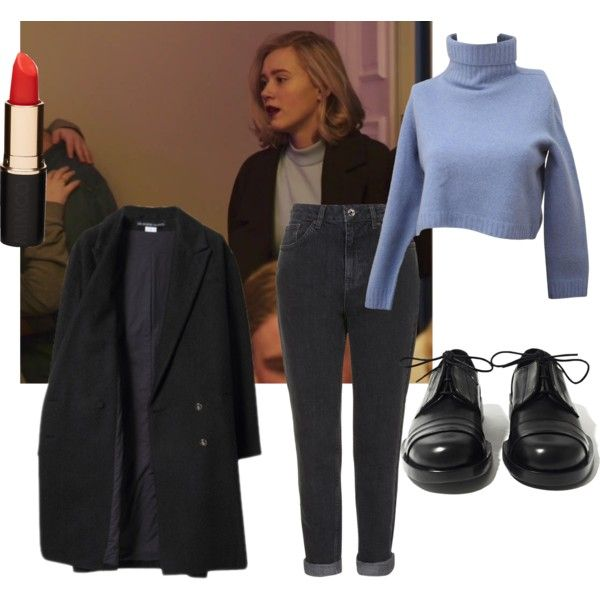 A fashion look from April 2016 featuring Les Prairies de Paris coats, Topshop jeans and Achilles Ion Gabriel flats. Browse and shop related looks.