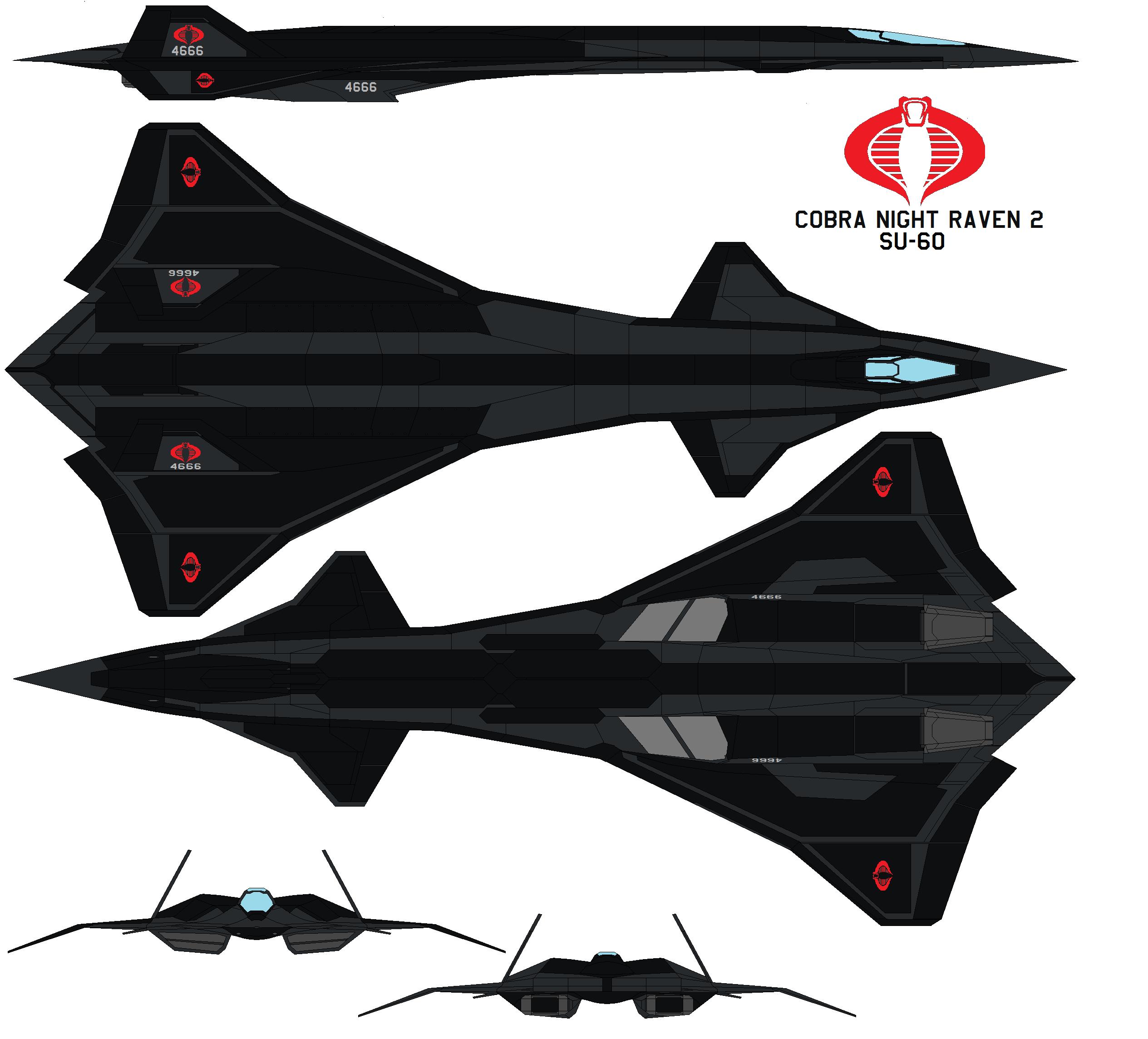 Cobra Night Raven 2 SU-60 By Bagera3005.deviantart.com On