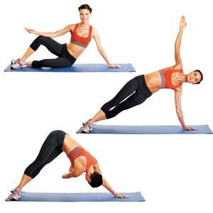 Mermaid with Ball  http://www.womenshealthmag.com/fitness/pilates-exercise?layout=print