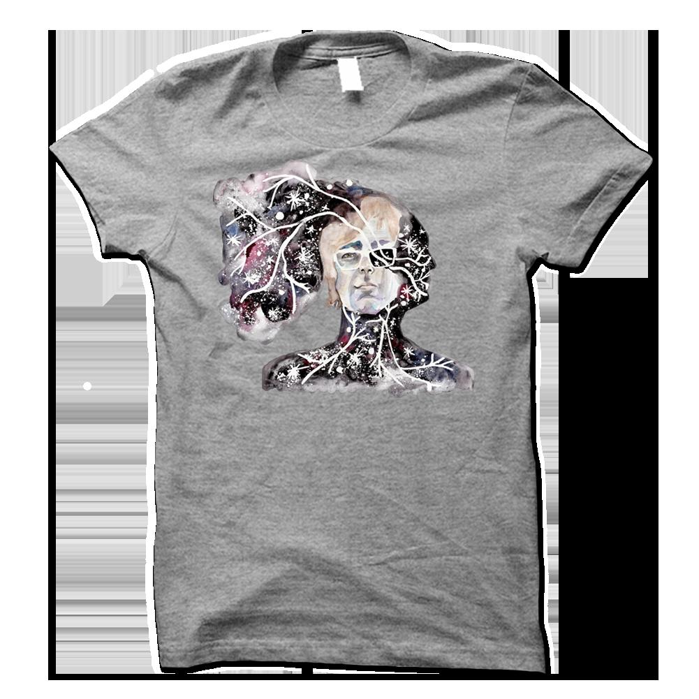Black t shirt ben folds - Ben Folds Painting Heather Grey Tee Front And Back Print 2015 Live Shirt