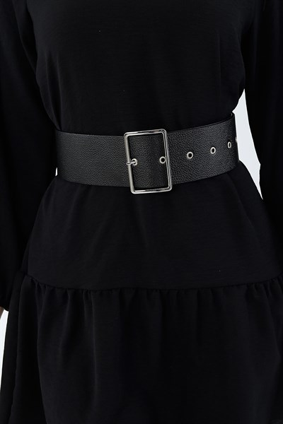 14 95 Tl Metal Tokali Siyah Bayan Kemer 27169k Modamizbir 2020 Moda Stilleri Kemer Giyim