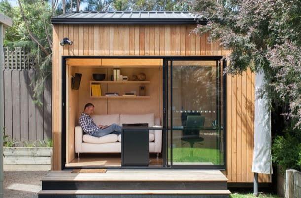 Backyard room casetas prefabricadas para el jard n las - Casetas de campo prefabricadas ...