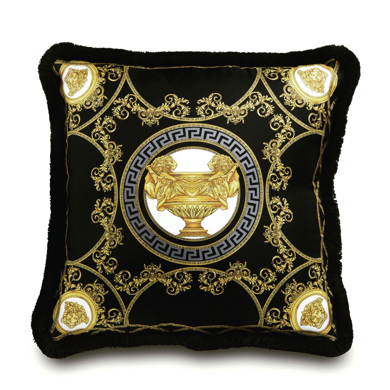 Versace home cushion versace home versace e design for Mobili versace