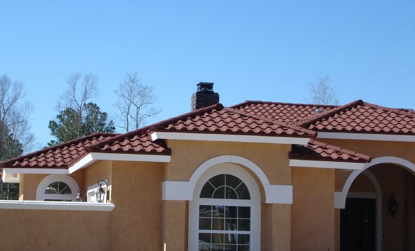 #Spanish Tile Roof We Make Your #Roofs More Attractive With Spanish #Tiles. These are Tuff and Give Your Roof a Look that is Appealing.