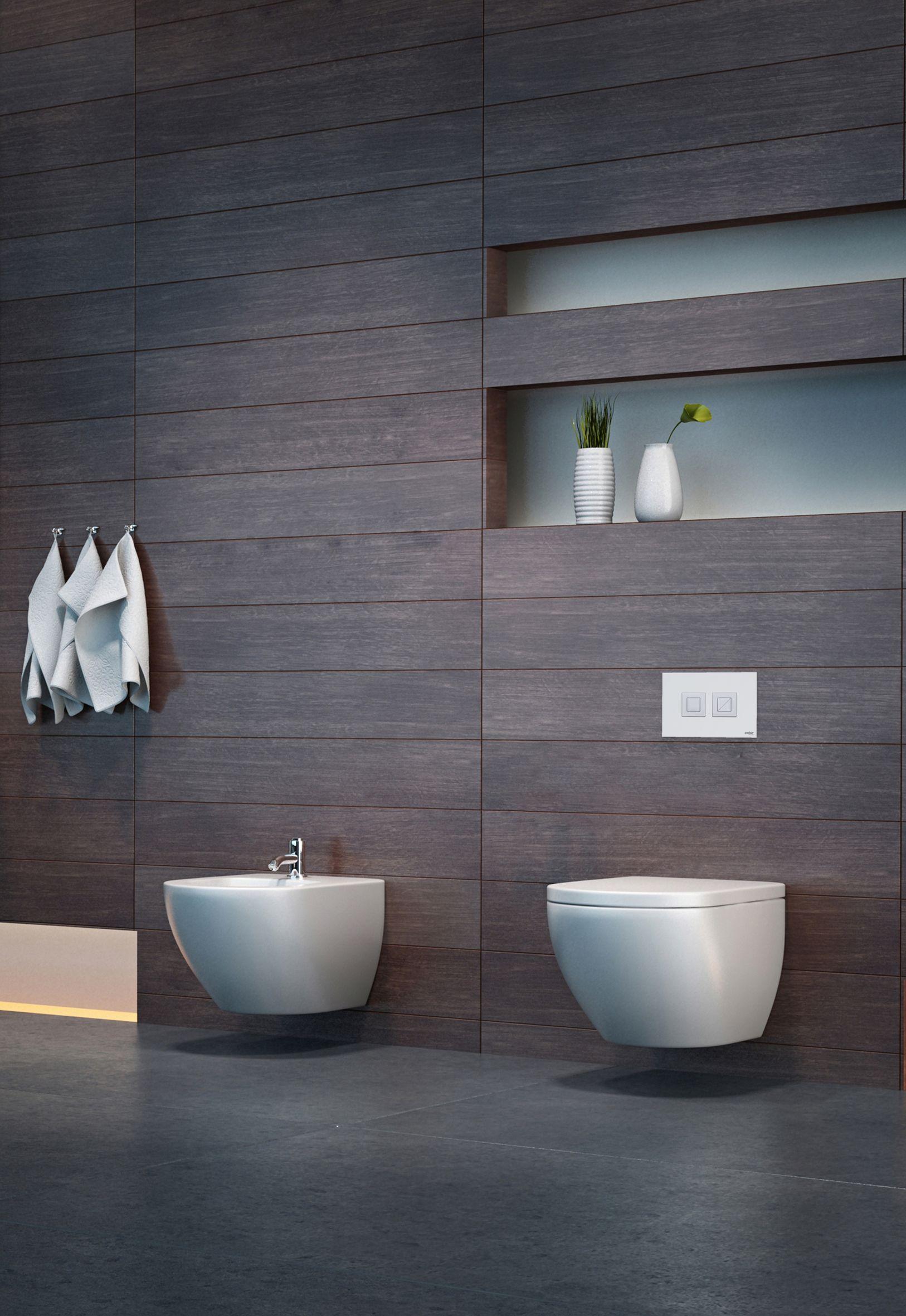 Valsir Design Push Plates For An Elegant Bathroom Valsir Spa Is - Heated bathroom floor systems for bathroom decor ideas