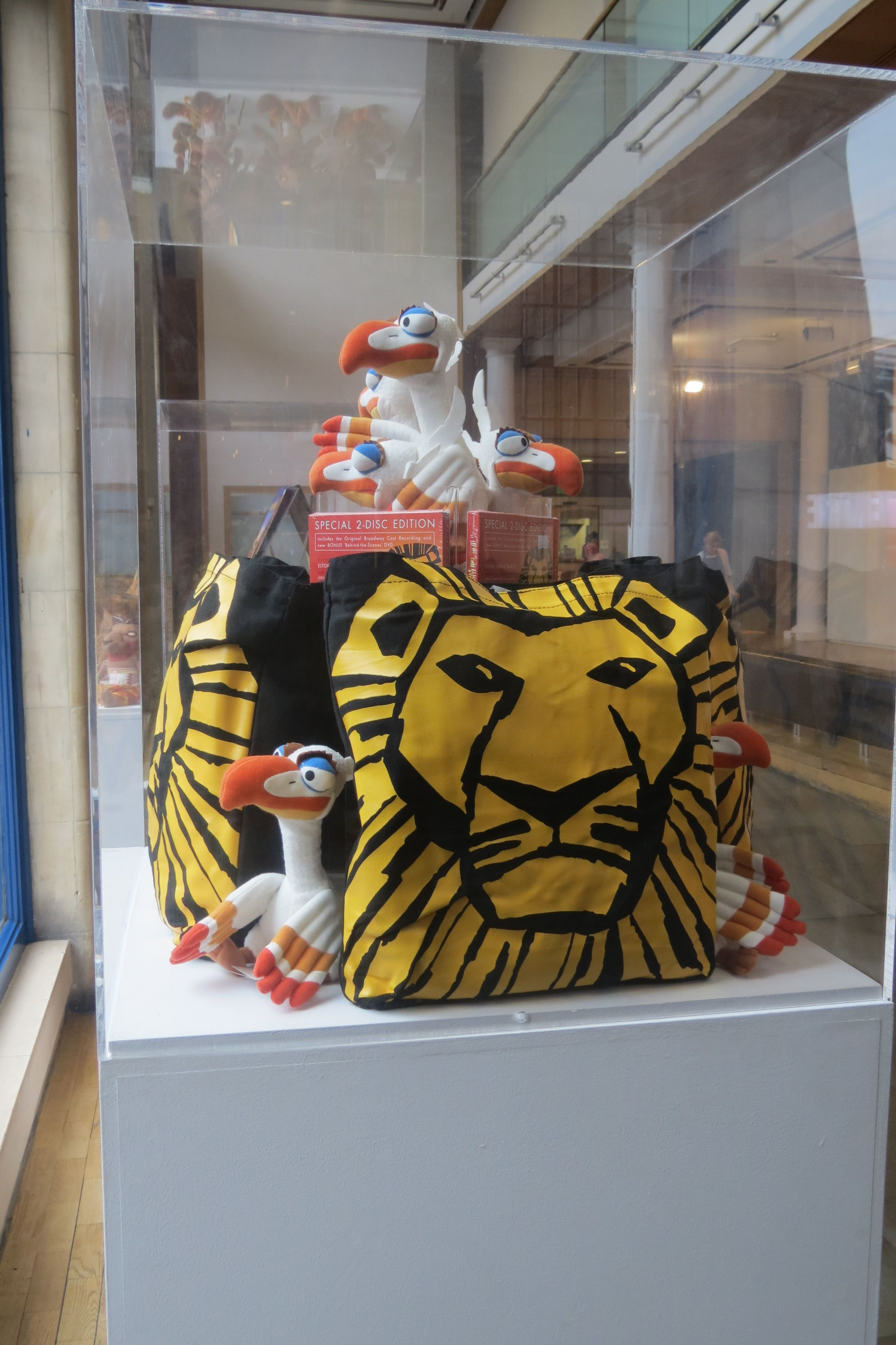 Lots of lovely Lion King goodies. On sale as part of