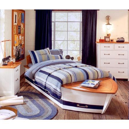 Nick S Speedboat Bedroom Furniture From Pottery Barn
