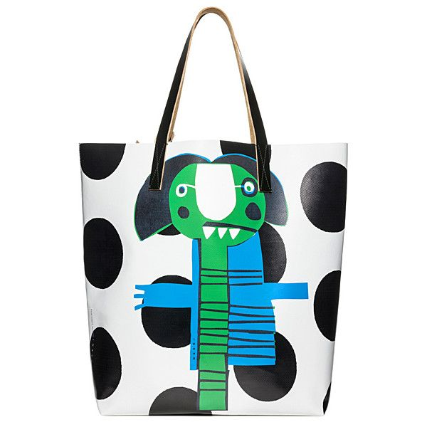 OOOK - Marni - Women's Accessories 2014 Summer - LOOK 42  ... ❤ liked on Polyvore featuring bags