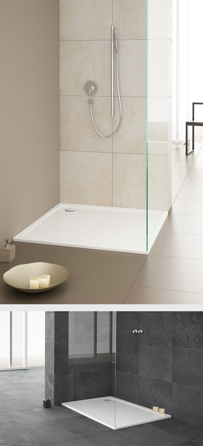 Kaldewei Xetis With Just 2 5 Cm In Depth This Shower Tray Is Extremely Shallow
