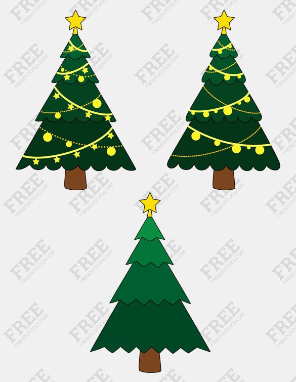 Free Graphics Christmas Trees Friendlystock Free Graphics Free Clip Art Free Vector Graphics