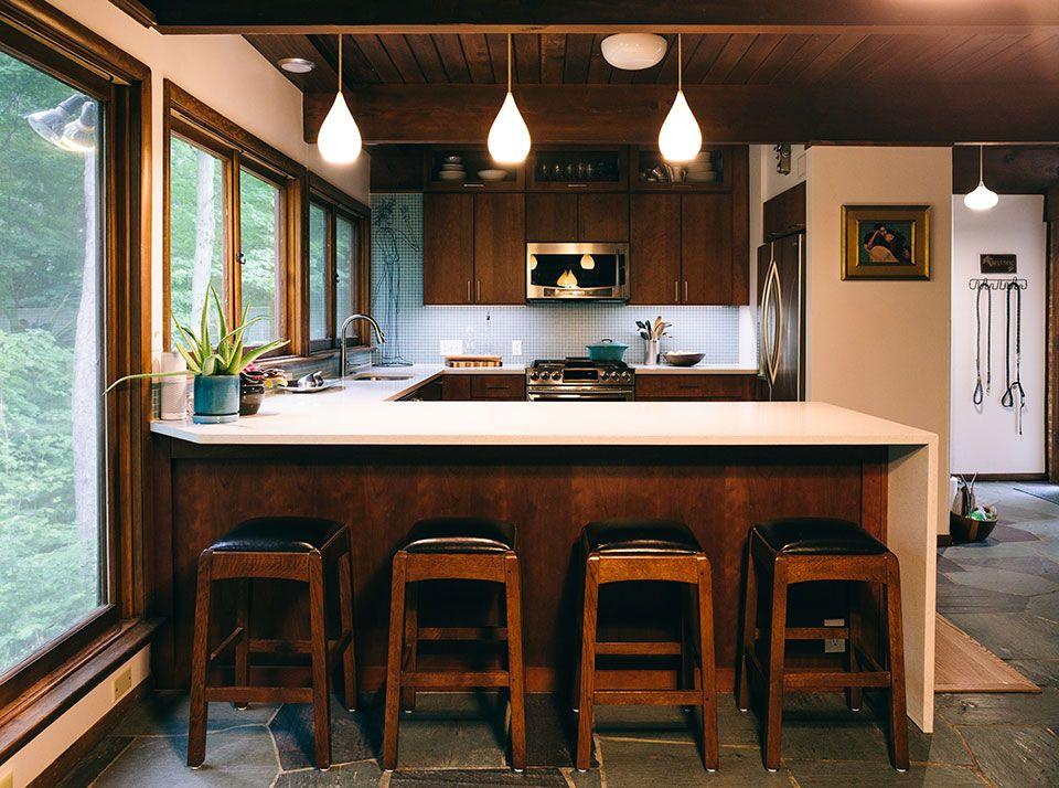 Best Mid Century Kitchen Remodel In West Lafayette In Kitchen 400 x 300