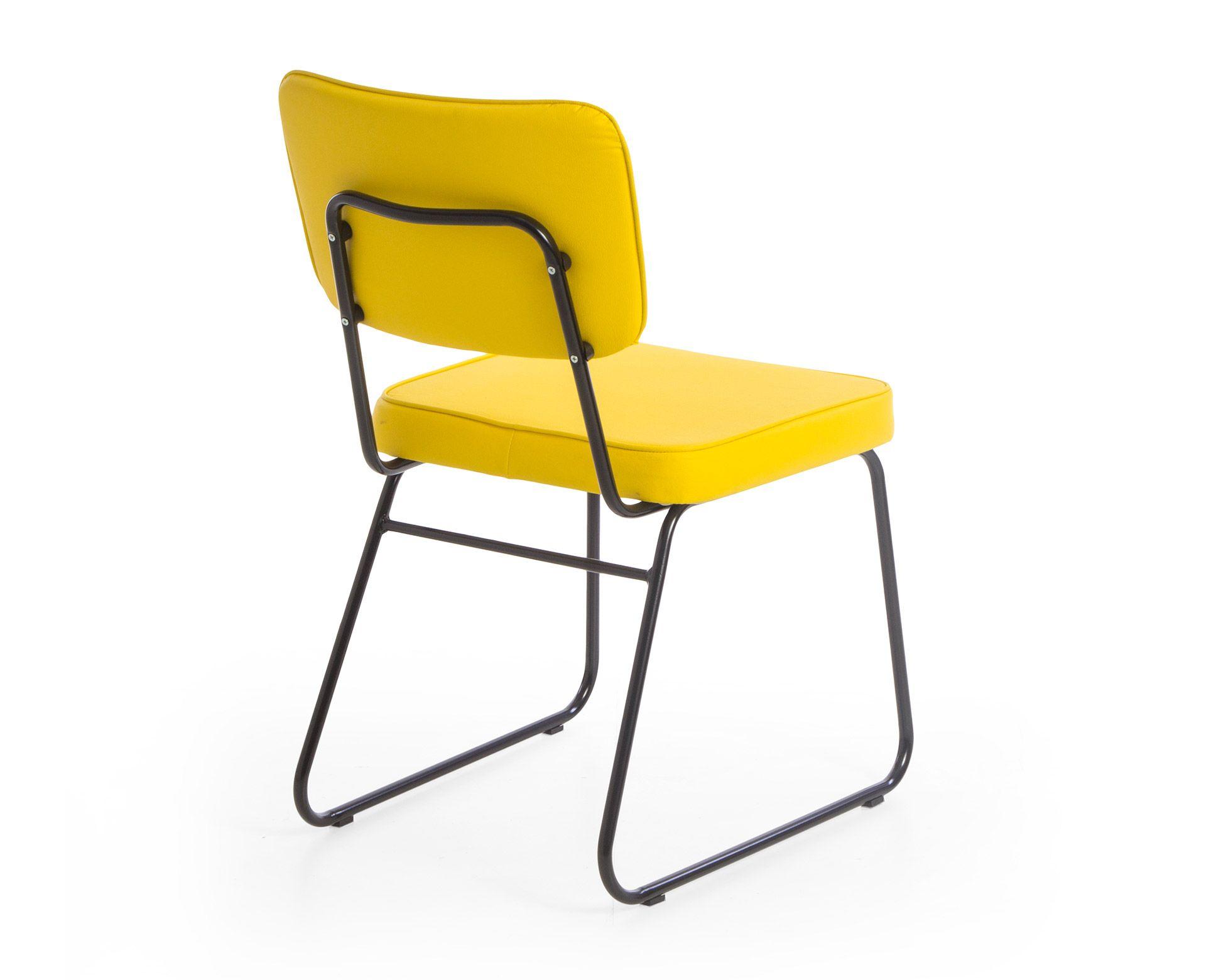Cadeira Lucy - Amarela