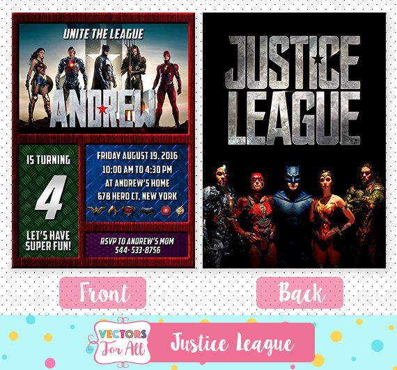 Justice league invitation justice league party justice league justice league invitation justice league party justice league invite justice league birthday stopboris Choice Image