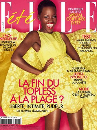 Lupita Nyong'o Has Her Marilyn Moment In ELLE France #Refinery29