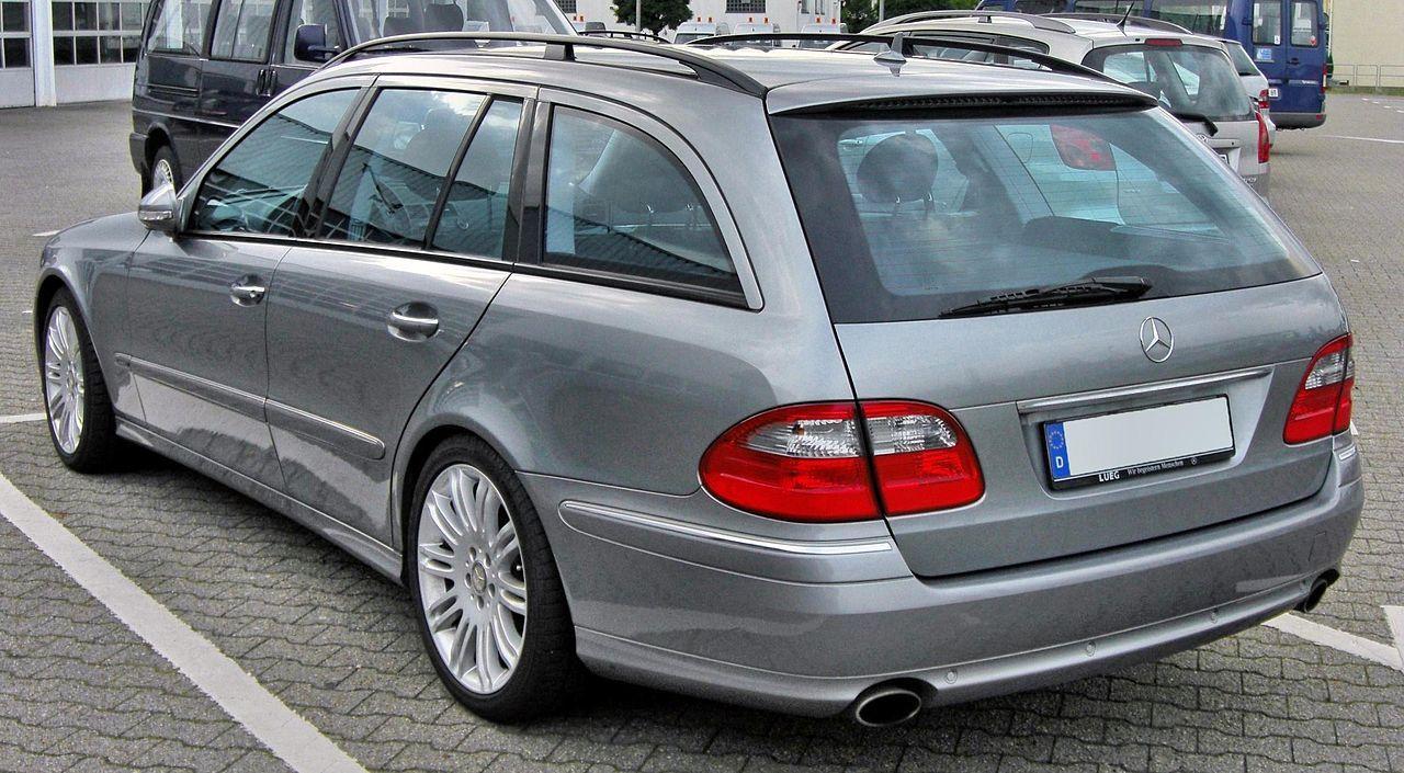 Third generation Mercedes E-Klasse T-Modell (S211) Facelift rear