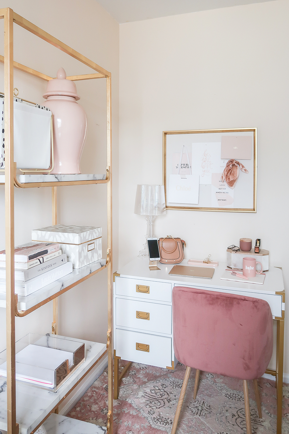 pink home office design idea. Fine Office Pink Home Office Design Idea The Best Desks For Small Spaces  Money Can  Buy On Idea