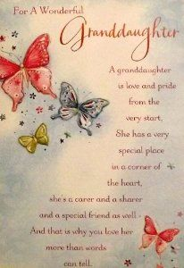 Image Result For Granddaughter Birthday Wishes Prayer Poems Sentiments