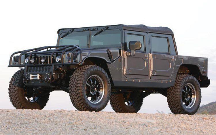 Hummer H1 Alpha Convertible - Hummer H1 - Wikipedia | Motorized ...