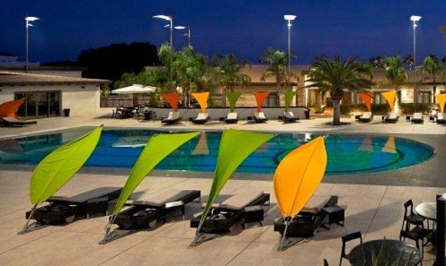 Umbrosa Shade Sail Patio Umbrellas Outdoor Loungers