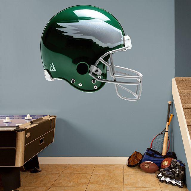 Philadelphia Eagles Throwback Helmet Real Fathead Wall Graphic Decal