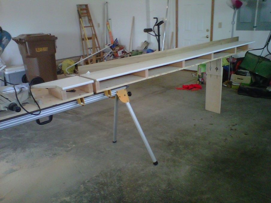 My Started Custom Modified Miter Saw Stand Contractor Talk Forums Dewalt Miter Saw Stand Mitre Saw Stand Miter Saw