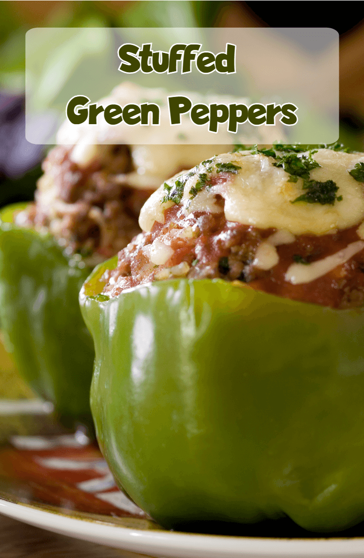 Stuffed Green Peppers Recipe Stuffed Peppers Stuffed Green Peppers Recipes