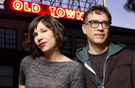 Thanks Electric Boredom And Tv Waves Running In My Circui Great Pin Carrie Brownstein Fred Armisen Minstrel Show