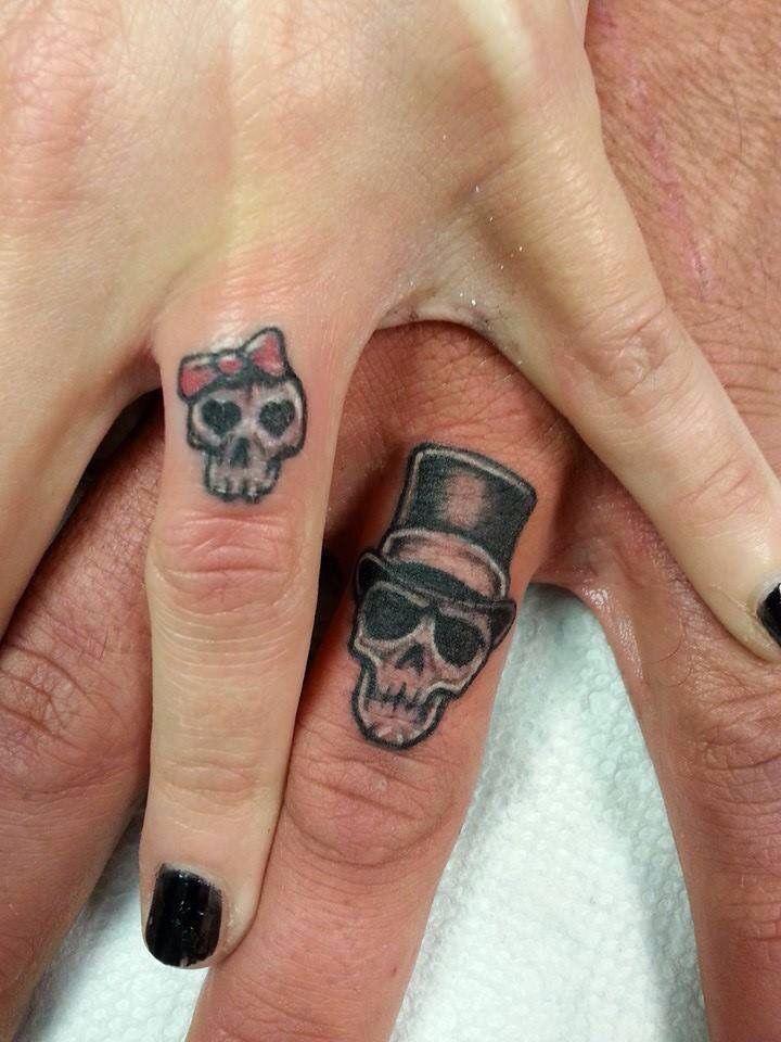 Skull Tattoos Love Tattoos Wedding Band Tattoos Black N Grey