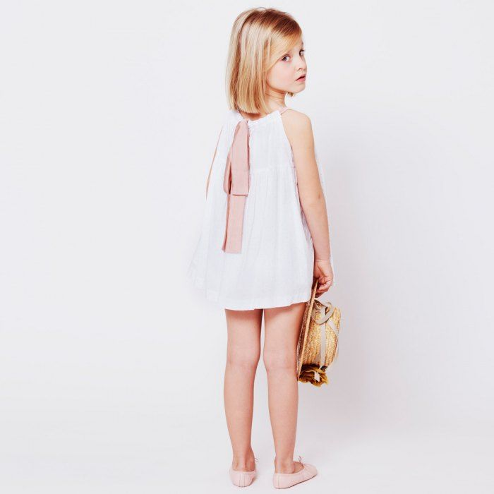 vestido perla niña macali