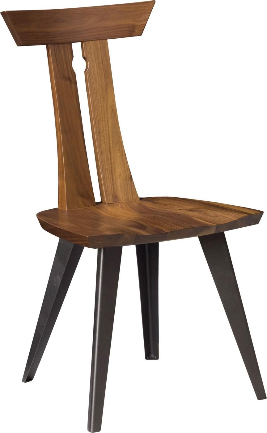 Amish Oslo Side Chair Barkman Furniture Collection This chair has a unique  look to it that will grow and grow on you. It is look that will remind  guests of ... 96c46759ed1e