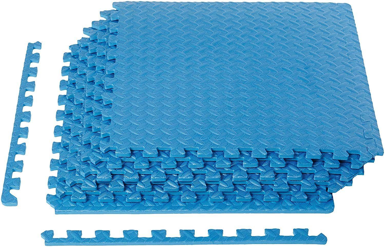 AmazonBasics Exercise Mat with EVA Foam