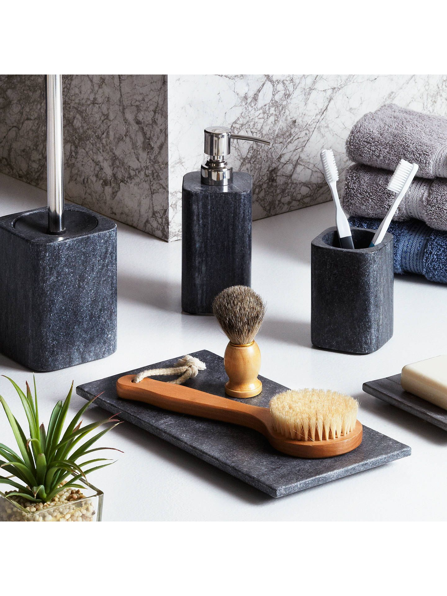 Buyjohn Lewis Partners Marble Ocean Accessories Tray Online At Johnlewis Com Luxurybathroomaccess Marble Bathroom Elegant Bathroom Bathroom Accessories Sets