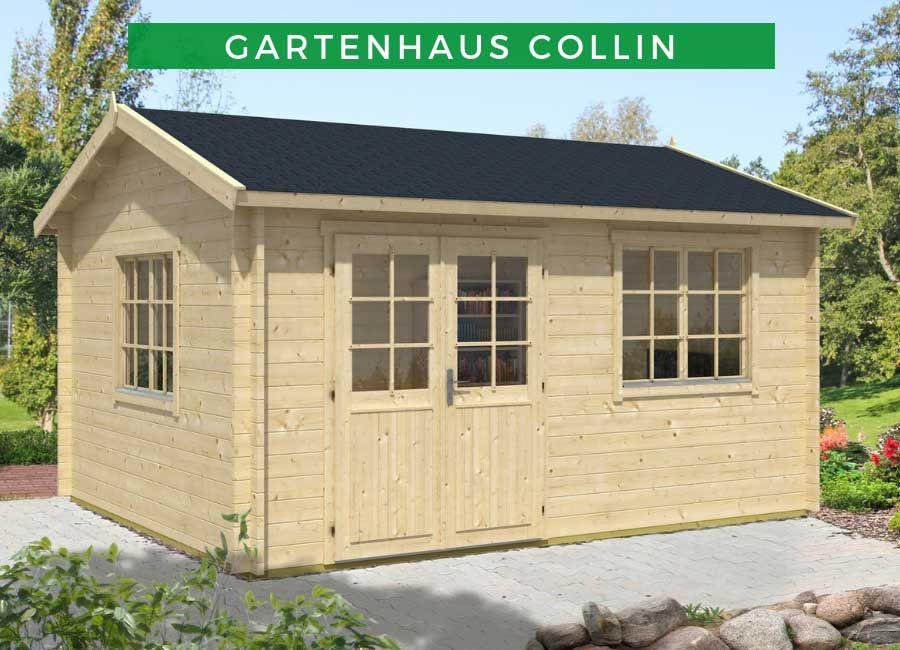 Gartenhaus Collin Iso Premium Gartenhaus Holz Gartenhaus Haus