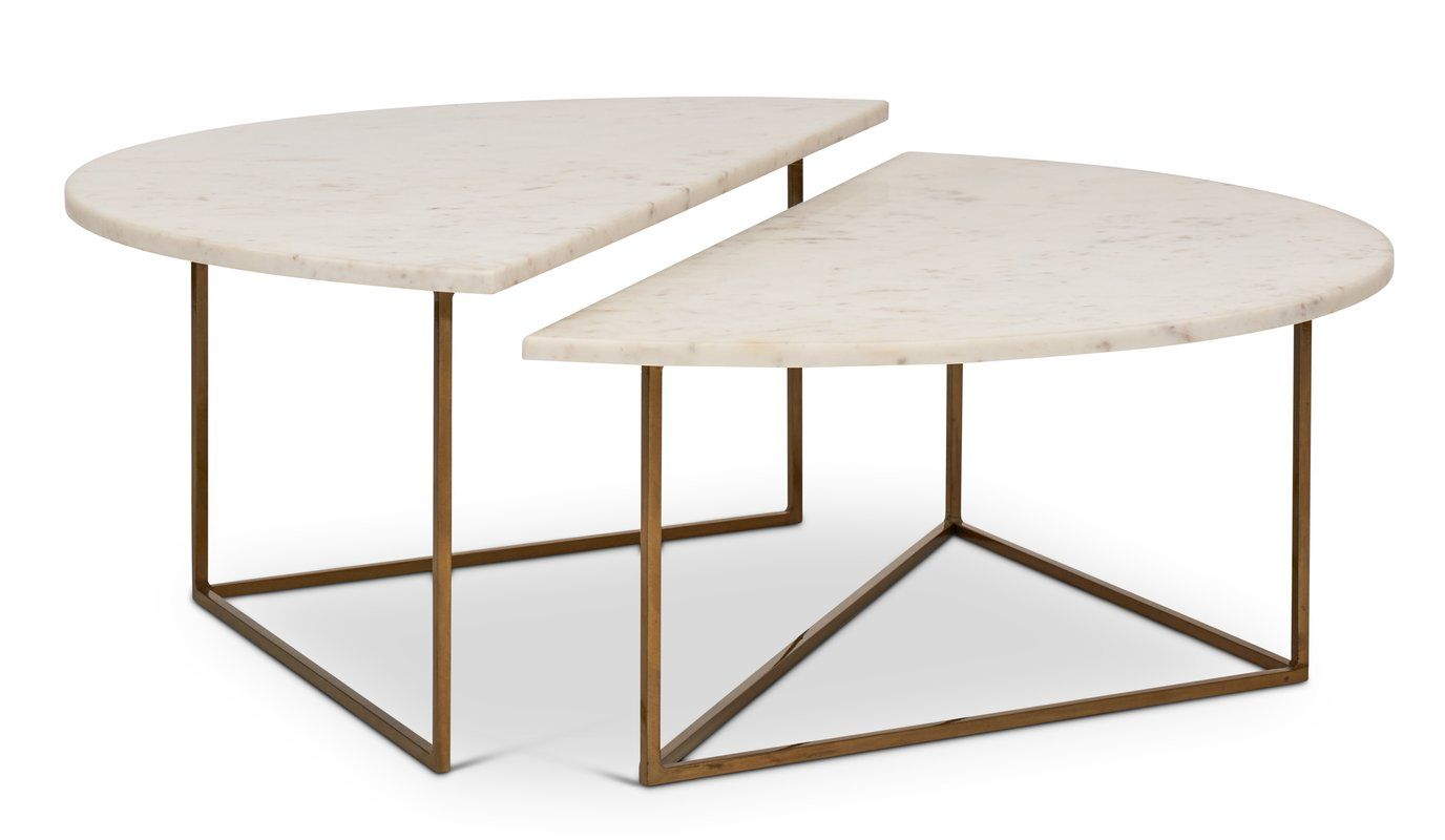 Dereham 2 piece coffee table set furniture table table