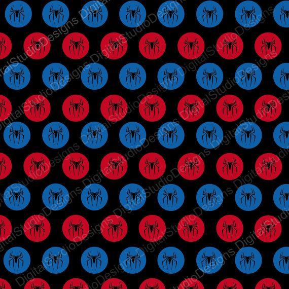 Spiderman Paper Pack 30 Papers 15 by DigitalStudioDesigns