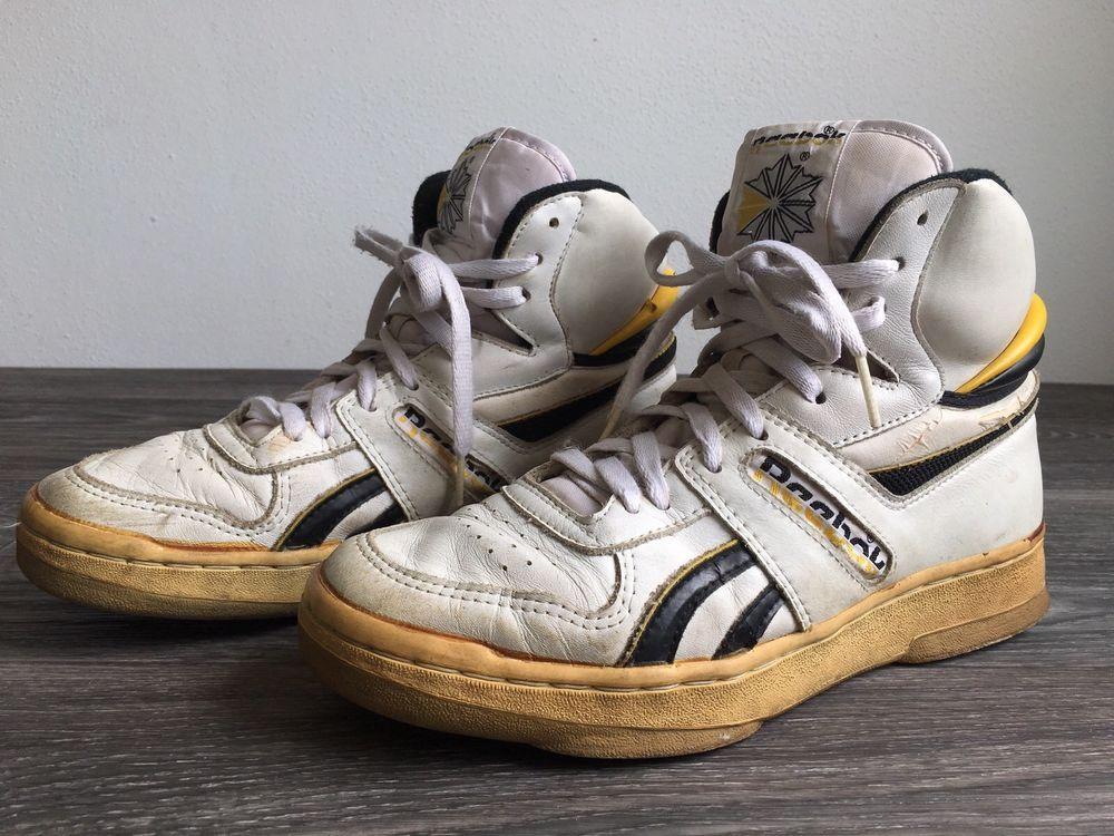 REEBOK HIGH TOPS Shoes Sneakers Vtg 80