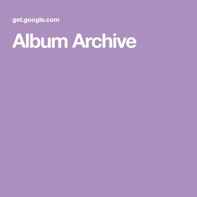 Album Archive