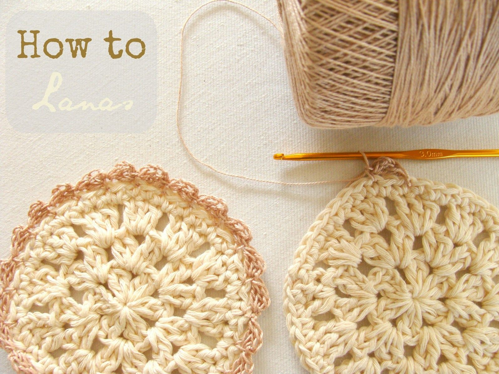 Bloom Coasters, free pattern with chart by Lanas de Ana. Thanks so ...