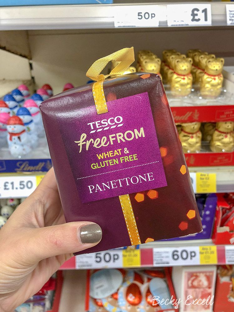 37 New Products In The Tesco Gluten Free Christmas Range