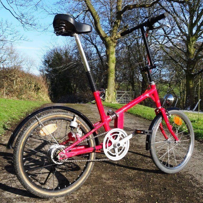 Folding Bike With Hub Gears