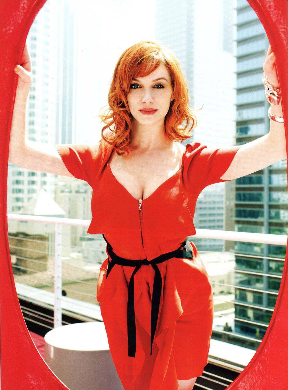 Christina Hendricks for Delta Sky Magazine, July 2010