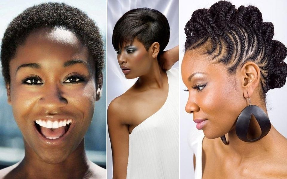 Black Short Hairstyles For Oval Faces Pretty Haircuts Oval Face Hairstyles Hair Styles Short Black Hairstyles