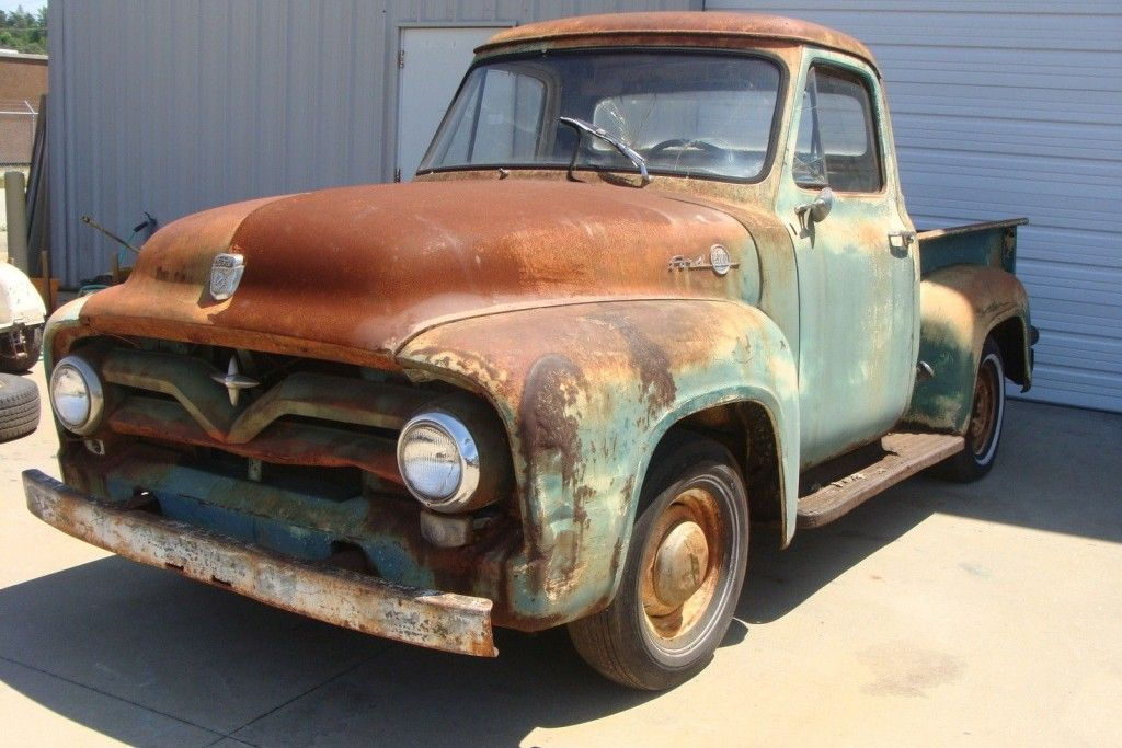 Patina King: 1950 Ford F100   Ford, Barn finds and Ford trucks