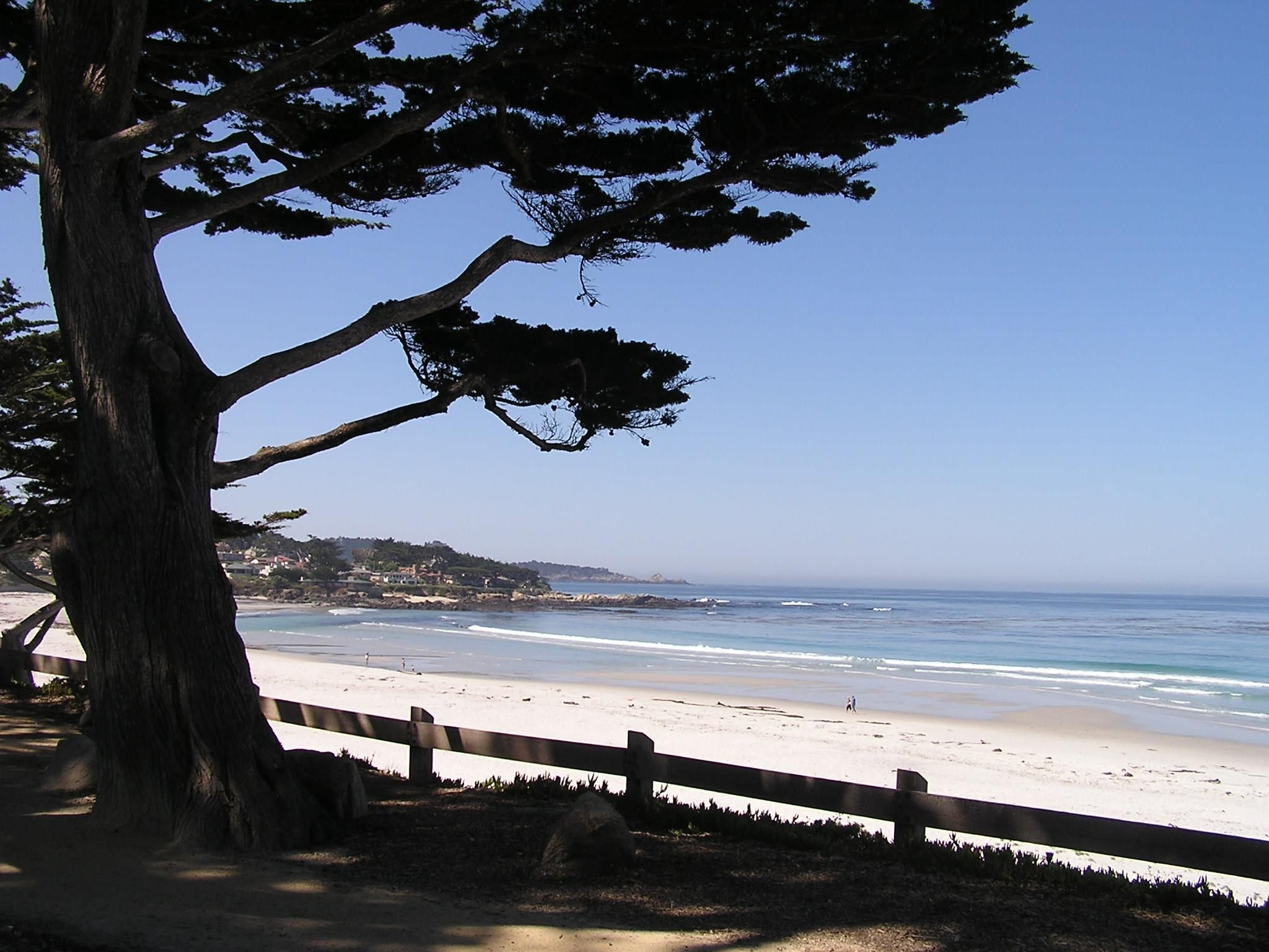 Sunny and 70 in Carmel. Come for sunset and stay for the weekend!