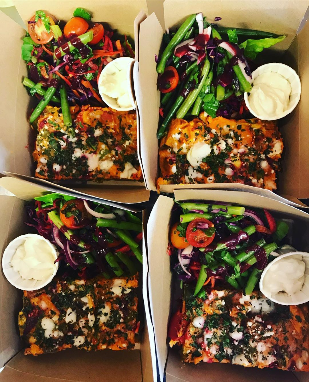 Don't have time to sit and eat!? We also do takeaway for those of you who are busy bees! 🐝 . . .