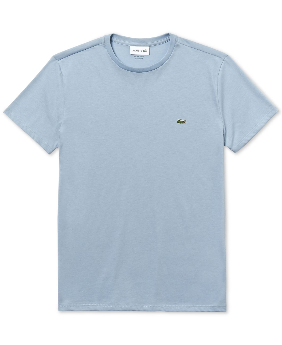 Lacoste Mens 100/% Cotton Regular Fit STRIPE V-NECK T-SHIRT Blue//Black//Light Grey